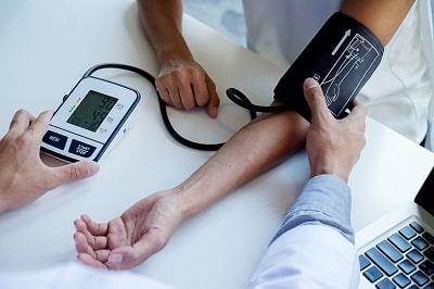 Blood pressure mesuring