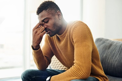 Low Levels of Testosterone Effects in Men - Mental health issues - anxiety and depression